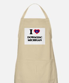 I love Dowagiac Michigan Apron
