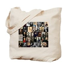 Composers Collage Tote Bag
