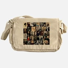 Composers Collage Messenger Bag
