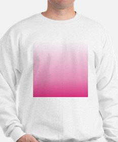 ombre hot pink Sweatshirt