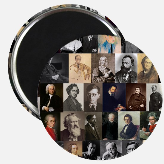 Composers Collage Magnets