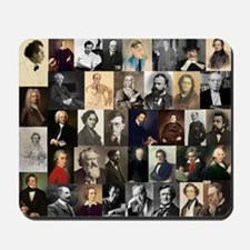 Composers Collage Mousepad