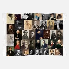 Composers Collage Pillow Case