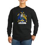 Stork Family Crest Long Sleeve Dark T-Shirt