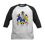 Stork Family Crest Kids Baseball Jersey