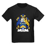 Stork Family Crest Kids Dark T-Shirt