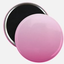 ombre hot pink Magnets