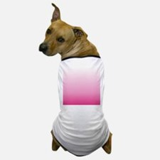 ombre hot pink Dog T-Shirt
