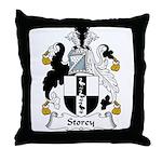 Storey Family Crest Throw Pillow