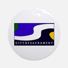 Sacramento, California Ornament (Round)
