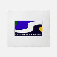 Sacramento, California Throw Blanket