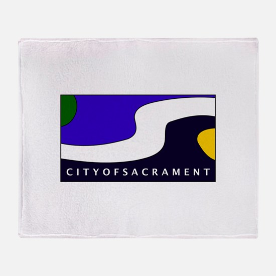 Sacramento, California Throw Blanket