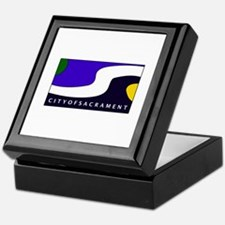 Sacramento, California Keepsake Box
