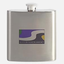 Sacramento, California Flask