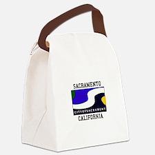 Sacramento California Canvas Lunch Bag