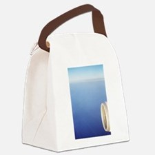 Cute Clouds Canvas Lunch Bag