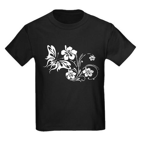 FLOWERS & BF 30 Kids Dark T-Shirt