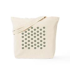 Retro Tuna Star Pattern. Fish Tuna RCM  Tote Bag