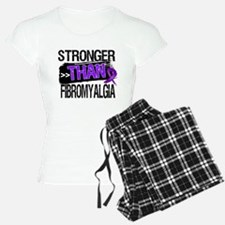 Stronger Than Fibromyalgia Pajamas