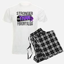 Stronger Than Fibromyalgia Pajamas