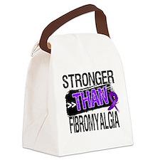 Stronger Than Fibromyalgia Canvas Lunch Bag