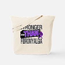 Stronger Than Fibromyalgia Tote Bag