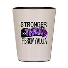 Stronger Than Fibromyalgia Shot Glass