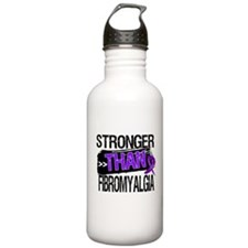 Stronger Than Fibromyalgia Water Bottle