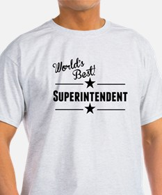Worlds Best Superintendent T-Shirt