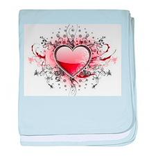 Love's Heart! baby blanket