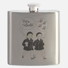 Putin Khuilo Vintage Ad Flask