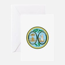 South Carolina Seal Greeting Cards