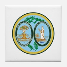 South Carolina Seal Tile Coaster