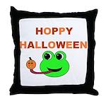 HOPPY HALLOWEEN Throw Pillow