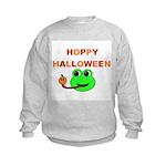 HOPPY HALLOWEEN Kids Sweatshirt