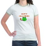 HOPPY HALLOWEEN Jr. Ringer T-Shirt