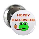 HOPPY HALLOWEEN Button