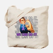 Fibromyalgia We Can Do It Tote Bag
