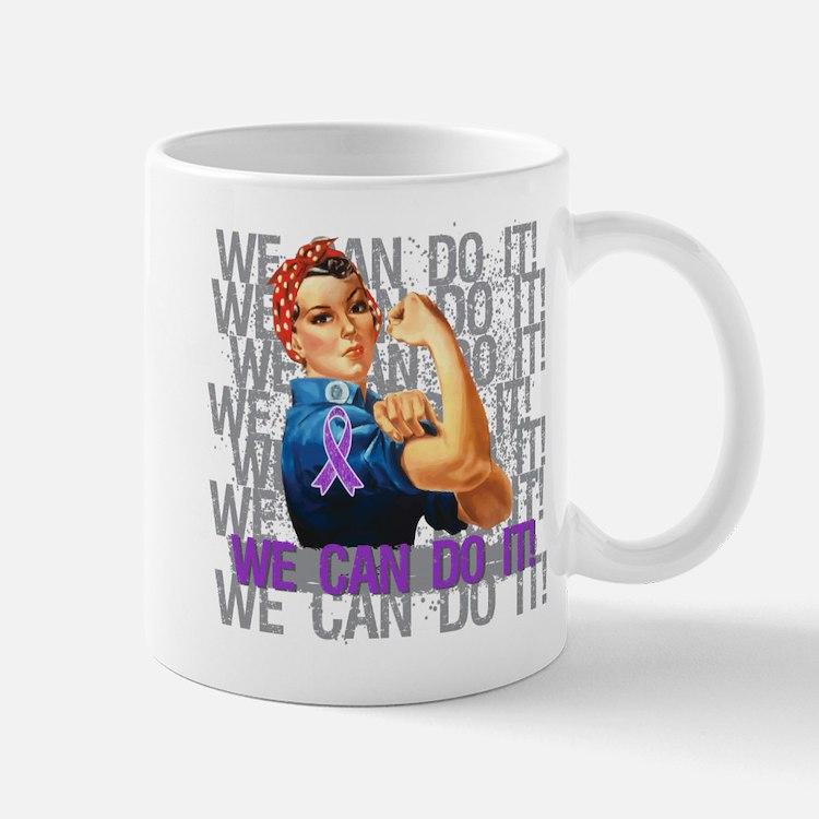 Fibromyalgia We Can Do It Mugs