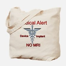 Medical Alert Device Implant NO MRI Ascle Tote Bag