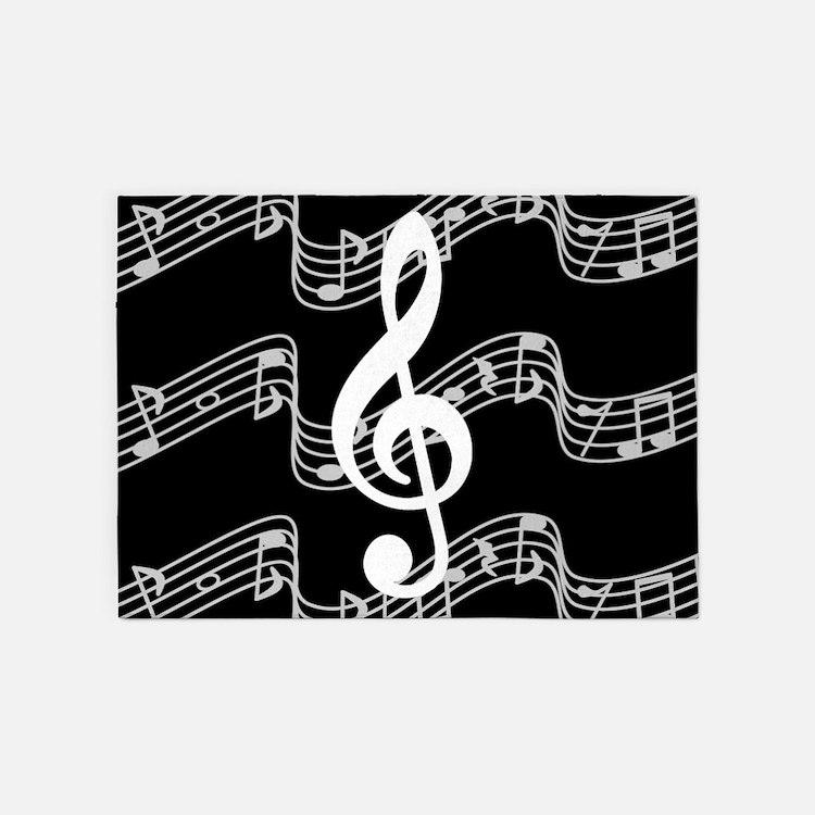 Music Staff Rugs, Music Staff Area Rugs