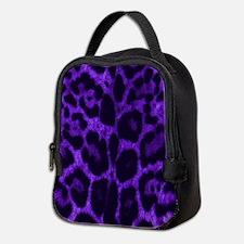 Purple Jaguar Neoprene Lunch Bag