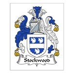 Stockwood Family Crest Small Poster