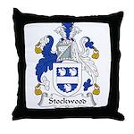 Stockwood Family Crest Throw Pillow