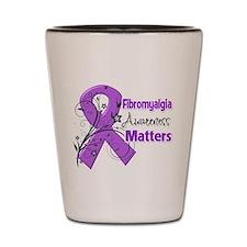 Fibromyalgia Matters Shot Glass