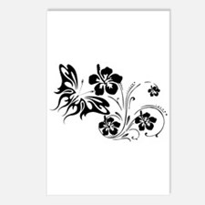 FLOWERS & BF 30 Postcards (Package of 8)