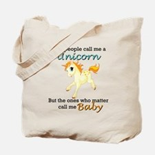 Unicorn Polyamory Triad Tote Bag