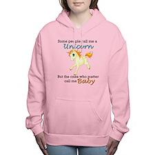 Unicorn Polyamory Triad Women's Hooded Sweatsh