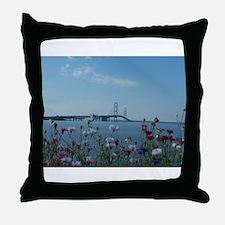 Unique Mackinac Throw Pillow