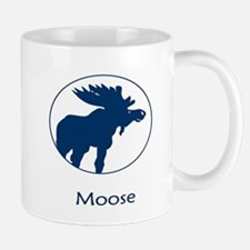 Moose Blue Mugs
